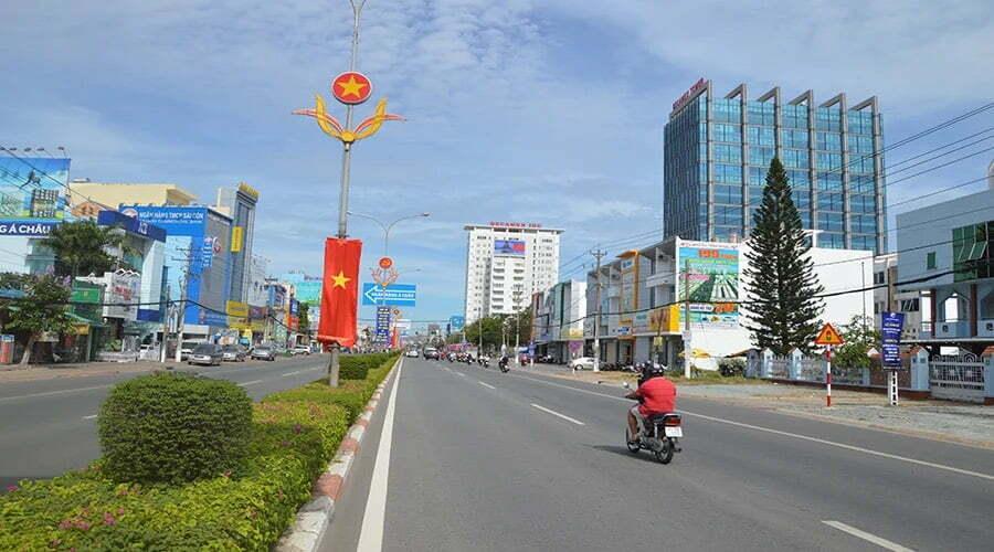 hạ tầng giao thông đại lộ opal cityview bình dương